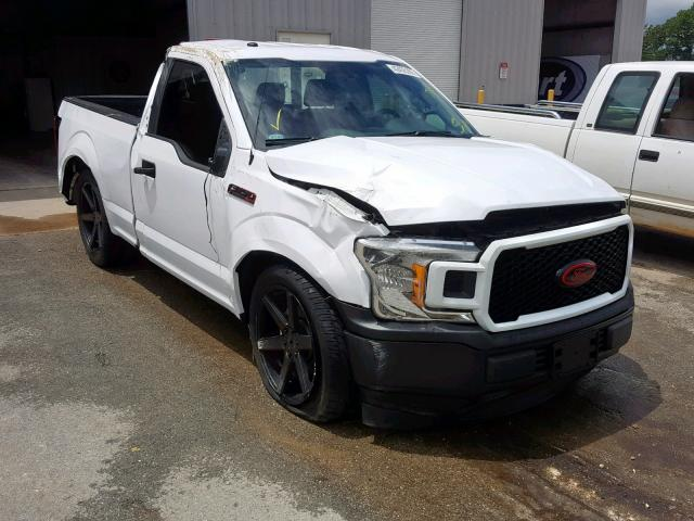 Salvage cars for sale from Copart Rogersville, MO: 2018 Ford F150