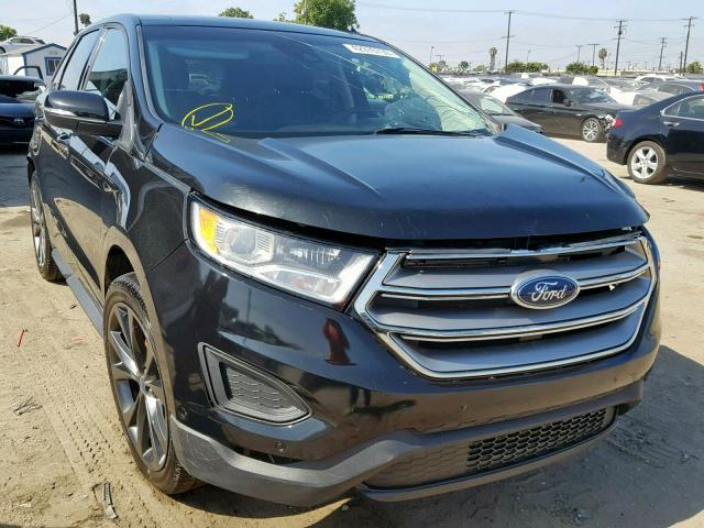 Salvage 2015 Ford EDGE SPORT for sale