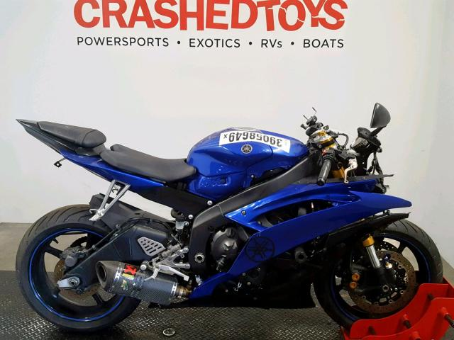 click here to view 2009 YAMAHA YZFR6 at IBIDSAFELY