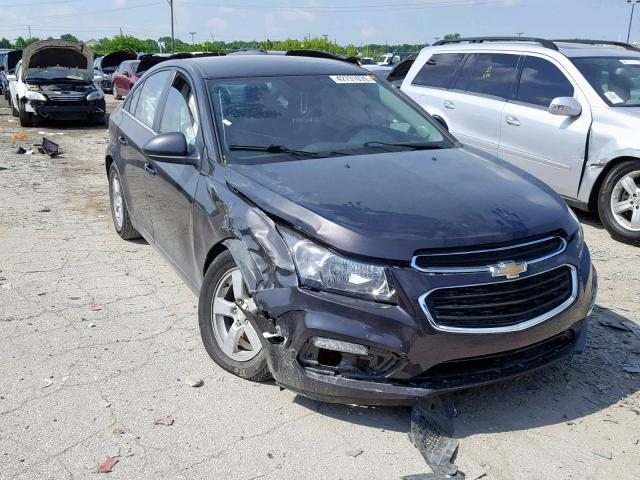 Salvage 2015 Chevrolet CRUZE LT for sale