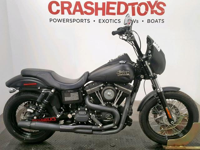 click here to view 2015 HARLEY-DAVIDSON FXDB DYNA at IBIDSAFELY