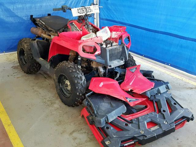 Salvage 2018 Polaris SPORTSMAN for sale
