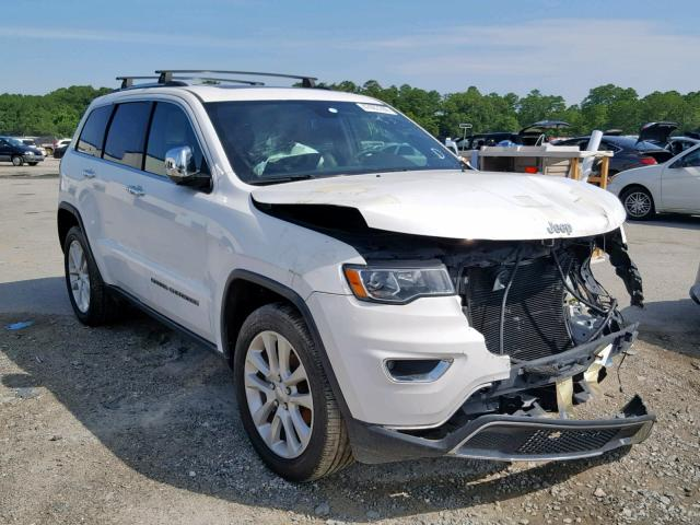 Salvage 2017 Jeep GRAND CHEROKEE for sale