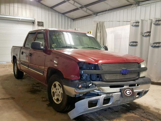 Salvage 2004 Chevrolet SILVERADO for sale