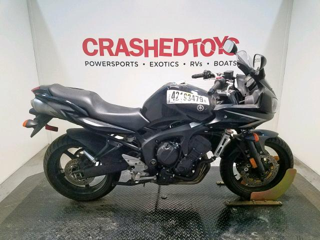 Yamaha FZ6 SHG salvage cars for sale: 2009 Yamaha FZ6 SHG