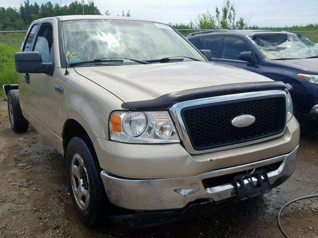 Salvage 2007 Ford F150 for sale