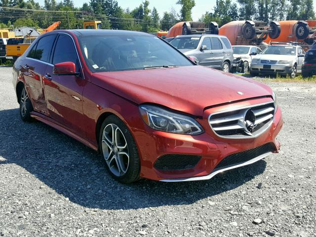 Mercedes-Benz salvage cars for sale: 2014 Mercedes-Benz E 250 Blue