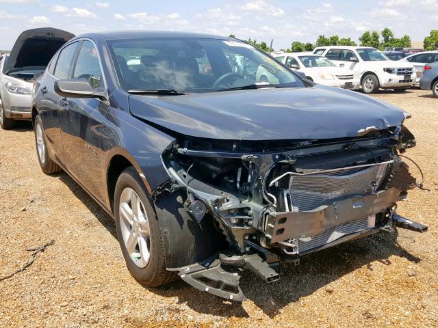 Salvage cars for sale from Copart Bridgeton, MO: 2019 Chevrolet Malibu LS