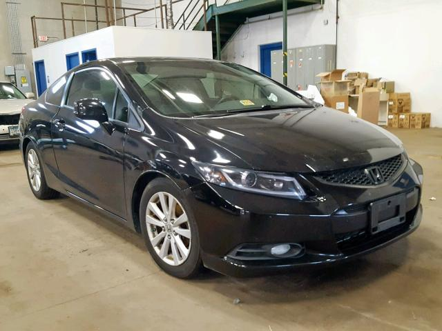 Salvage 2012 Honda CIVIC EXL for sale