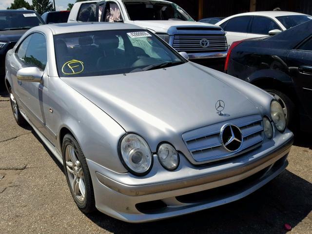 Salvage 1998 Mercedes-Benz CLK 320 for sale