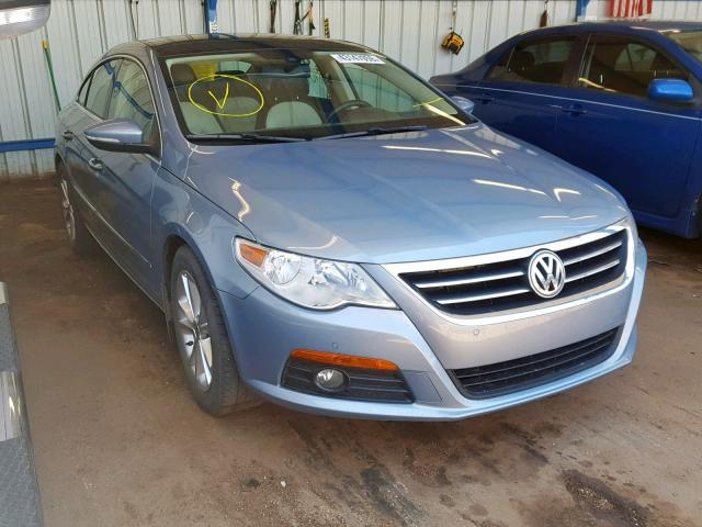 Salvage cars for sale from Copart Colorado Springs, CO: 2010 Volkswagen CC Luxury