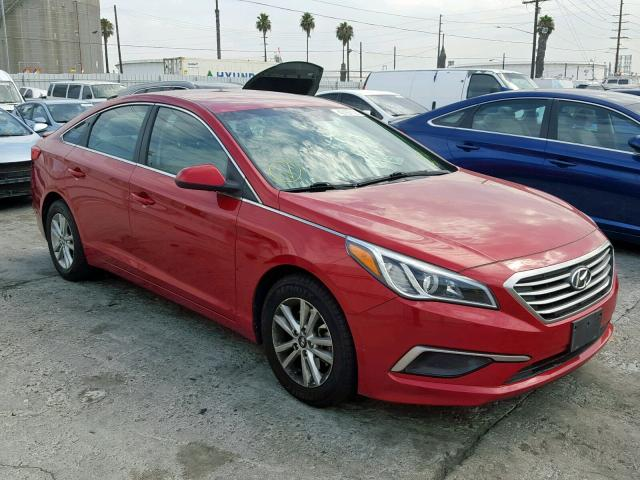 Salvage 2017 Hyundai SONATA SE for sale