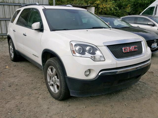 Salvage 2008 GMC ACADIA SLT for sale
