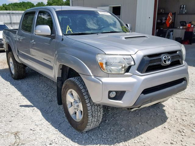 Salvage cars for sale from Copart Rogersville, MO: 2015 Toyota Tacoma DOU