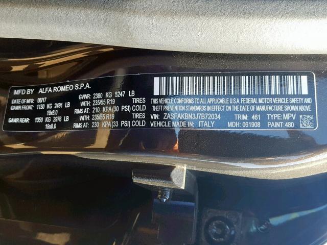 Купить Alfa Romeo Stelvio 2018 г. из США с доставкой и растаможкой под ключ.