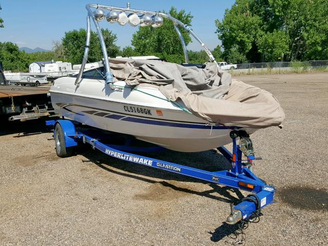 Glastron salvage cars for sale: 2008 Glastron Marine Trailer