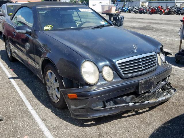 Salvage 2000 Mercedes-Benz CLK 320 for sale