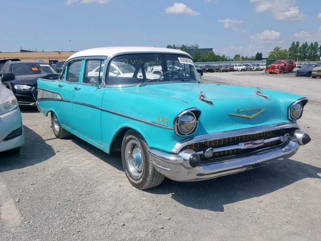 1957 Chevy Bel Air For Sale >> 1957 Chevrolet Bel Air For Sale At Copart Courtice On Lot 43558169 Salvagereseller Com