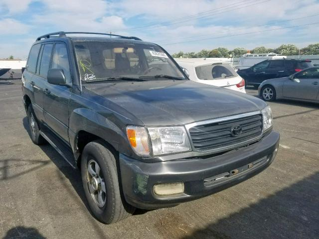 Salvage 2000 Toyota LAND CRUISER for sale