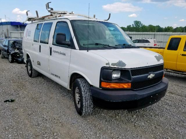 Chevrolet Express G2 salvage cars for sale: 2009 Chevrolet Express G2