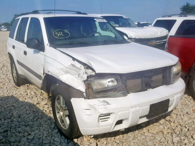 Salvage 2004 Chevrolet TRAILBLAZER for sale