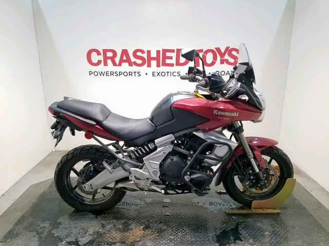 Salvage 2011 Kawasaki LE650 C for sale