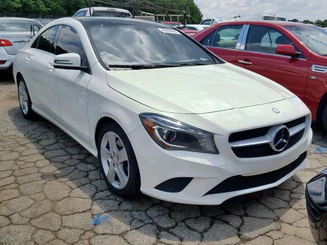Salvage 2014 Mercedes-Benz CLA 250 4M for sale