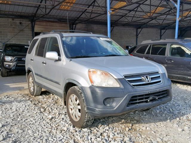 Salvage 2005 Honda CR-V EX for sale