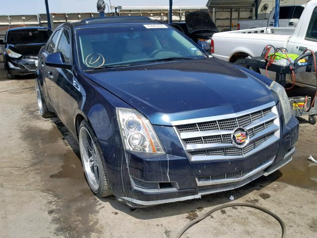 Salvage cars for sale from Copart Anthony, TX: 2008 Cadillac CTS