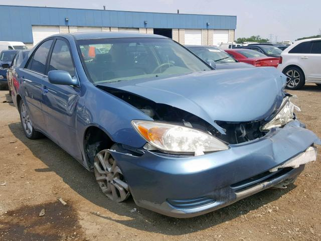 Salvage 2004 Toyota CAMRY LE for sale