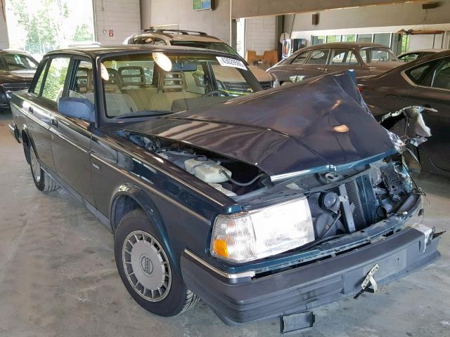 Volvo 240 salvage cars for sale: 1993 Volvo 240