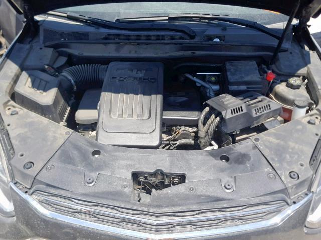 2016 Chevrolet Equinox Lt 2.4L inside view