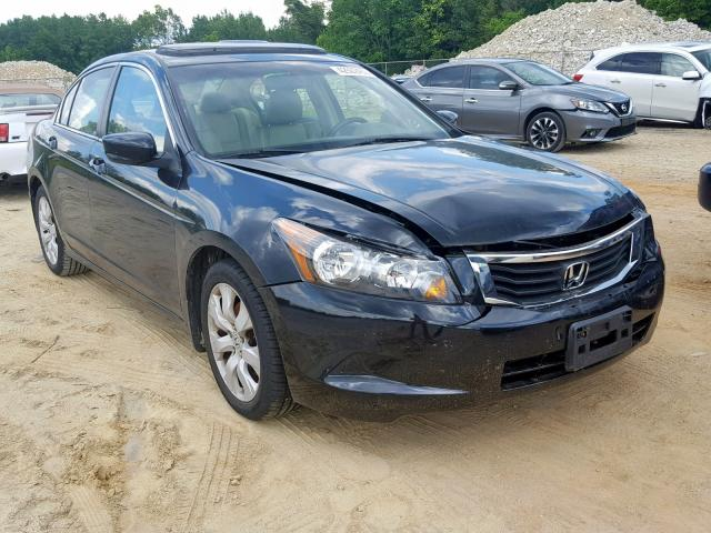 Salvage 2009 Honda ACCORD EXL for sale