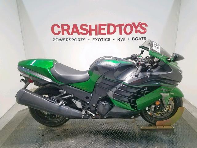Salvage 2018 Kawasaki ZX1400 J for sale