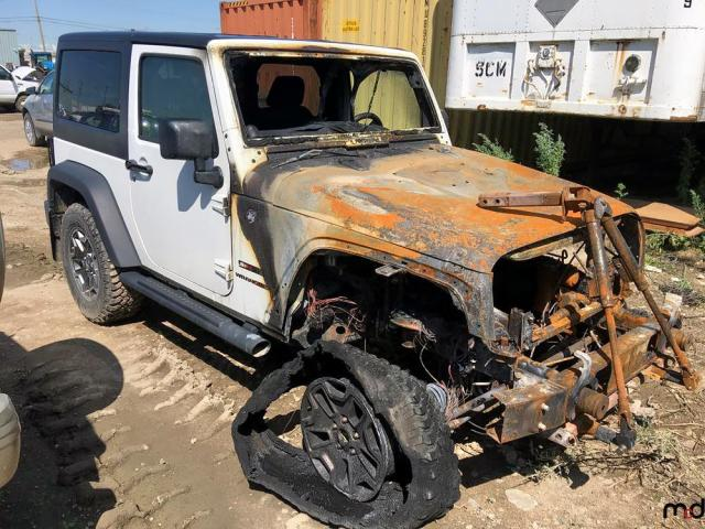 Jeep salvage cars for sale: 2013 Jeep Wrangler S