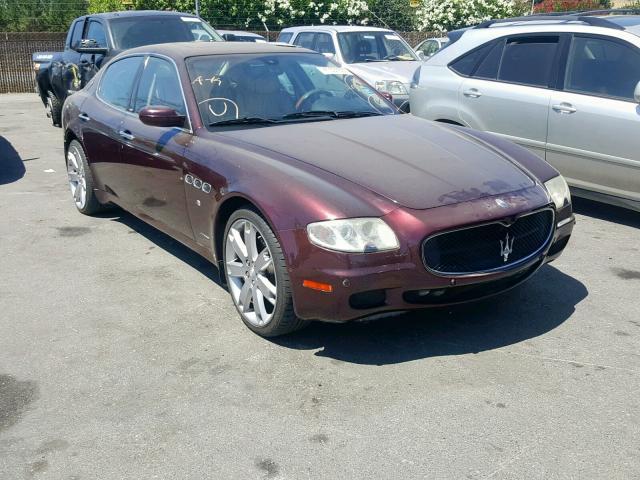 2007 Maserati Quattroporte M139 For Sale Ca San Jose Tue