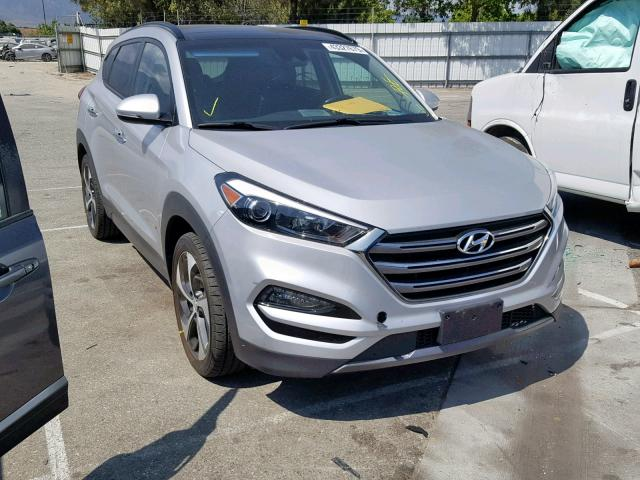 Hyundai Tucson Limited salvage cars for sale: 2016 Hyundai Tucson Limited