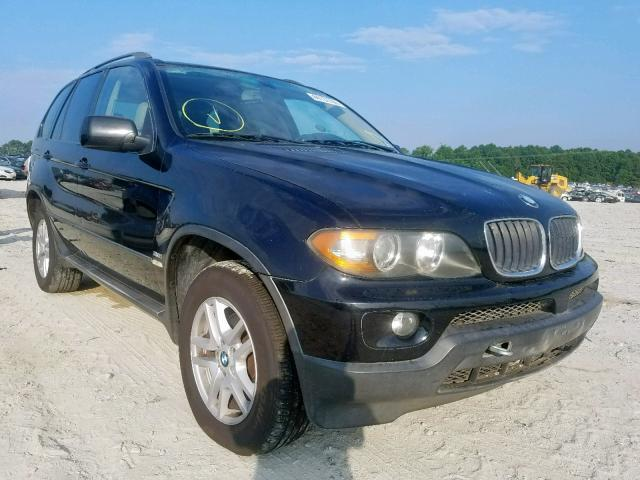Auto Auction Ended On Vin 5uxfa13555ly12340 2005 Bmw X5 3 0i