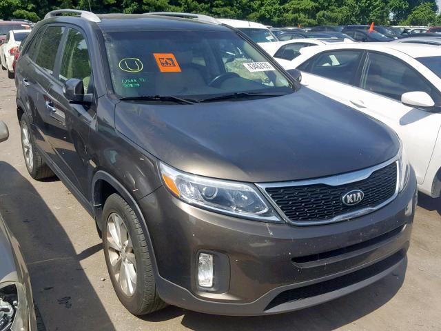 Vehiculos salvage en venta de Copart Lumberton, NC: 2015 KIA Sorento EX