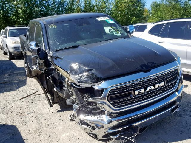 Salvage 2019 Dodge RAM 1500 LIMITED for sale