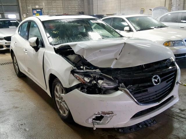 Salvage 2014 Mazda 3 TOURING for sale