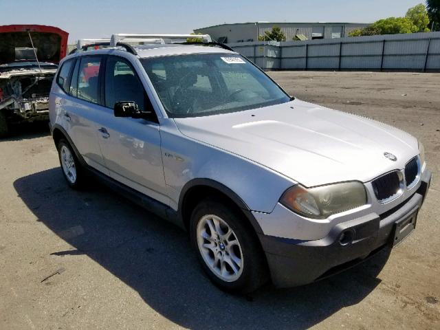 2004 Bmw X3 2 5i 2 5l 6 For Sale In Bakersfield Ca Lot 42942959