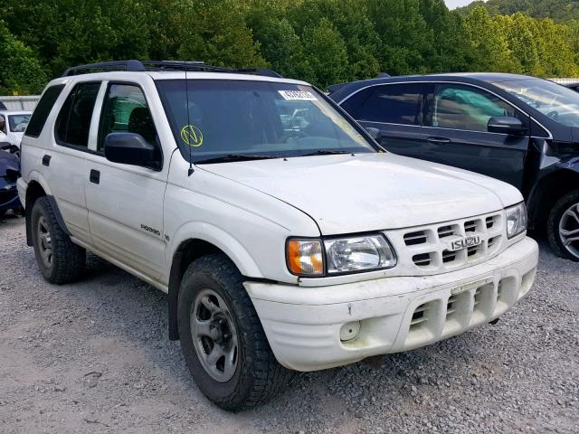 Salvage Certificate 2001 Isuzu Rodeo S 4dr Spor 3 2L 6 For