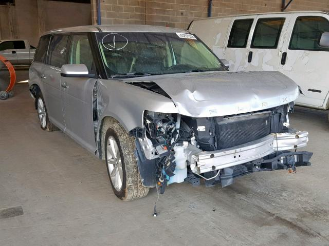 Salvage 2018 Ford FLEX LIMITED for sale