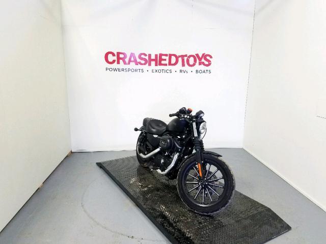 Salvage 2012 Harley-Davidson XL883 IRON for sale
