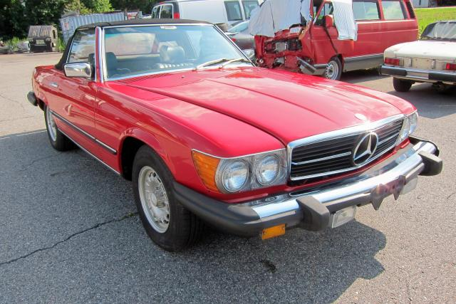1981 MERCEDES-BENZ  380 SL