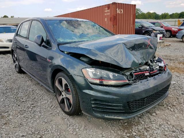 Salvage 2017 Volkswagen GTI SPORT for sale