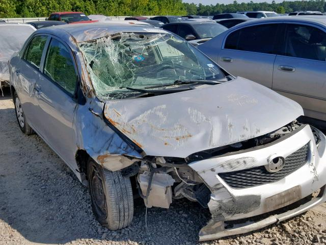 Salvage 2009 Toyota COROLLA BA for sale