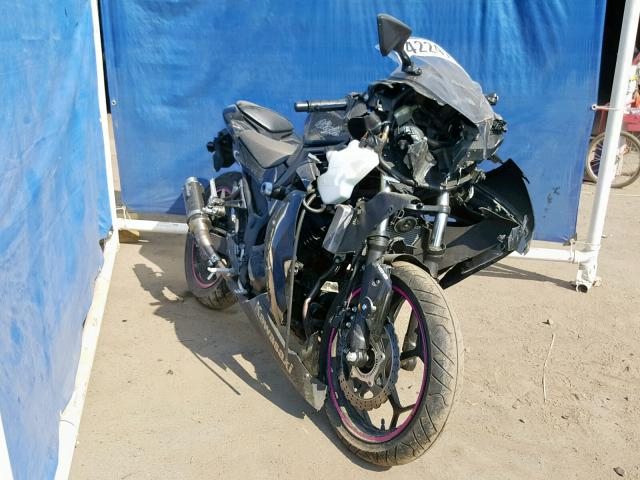 Salvage 2014 Kawasaki EX300 B for sale