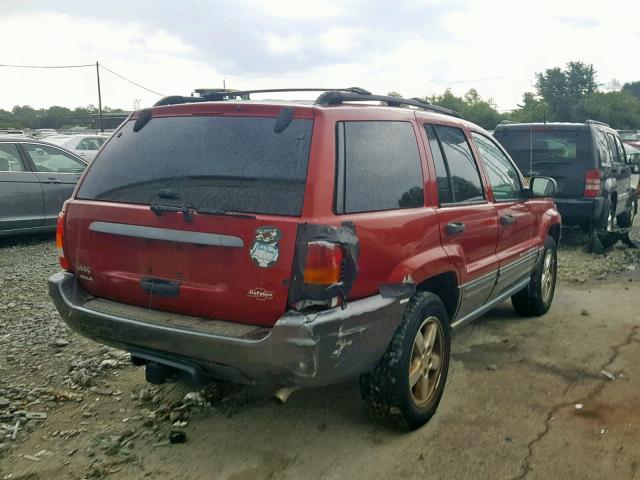 2004 Jeep Grand Cher 4 0L 6 for Sale in Windsor NJ - Lot: 44346019